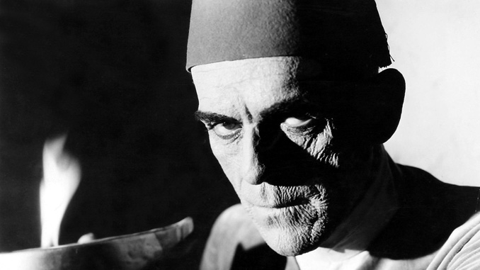 Boris Karloff as Imhotep