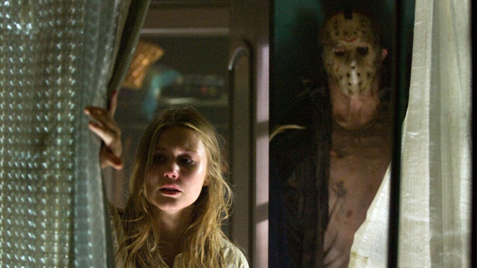 "Derek Mears and Julianna Guill in ""Friday the 13th"" (2009)"