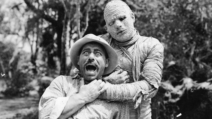 "Lon Chaney, Jr. in ""The Mummy's Tomb"" (1942)"
