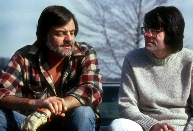 George A. Romero and Stephen King