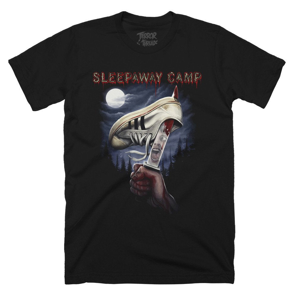 "Terror Thread's Sleepaway Camp ""You Won't Be Coming Home"" design by samhain1992"