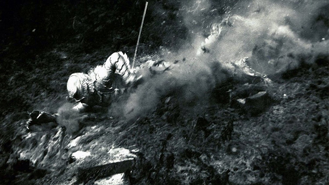 Ricou Browning in Creature from the Black Lagoon (1954)