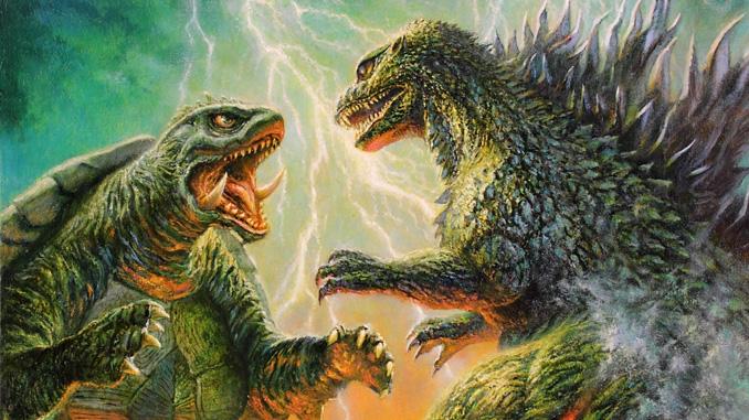 Bob Eggleton's cover art for Famous Monsters of Filmland #262