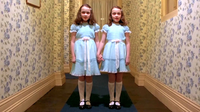 ….and the Award for Creepiest Use of Twins Ever Goes to Stanley Kubrick!