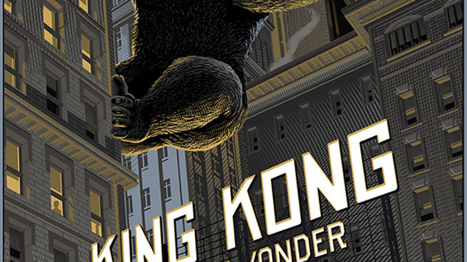 """King Kong"" by  Laurent Durieux"