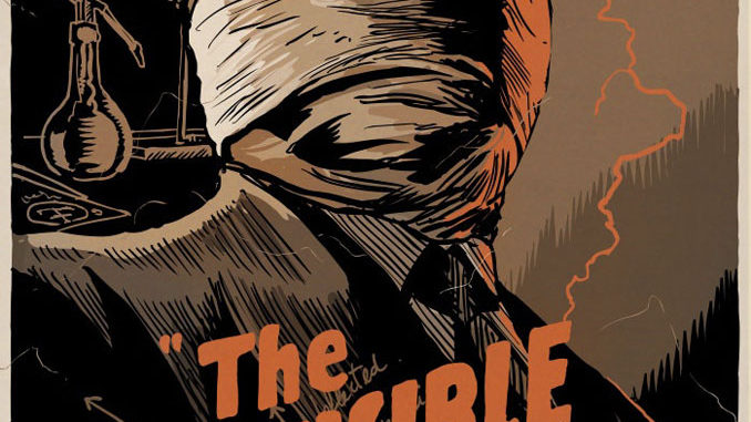 """The Invisible Man"" by Francesco Francavilla"