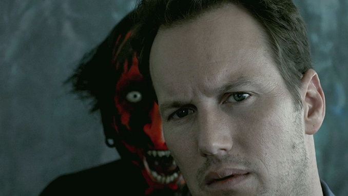 Patrick Wilson and Joseph Bishara in Insidious (2010)