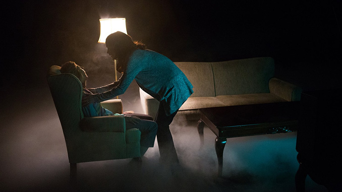 "Lin Shaye and Rose Byrne in ""Insidious: Chapter 2"" (2013)"