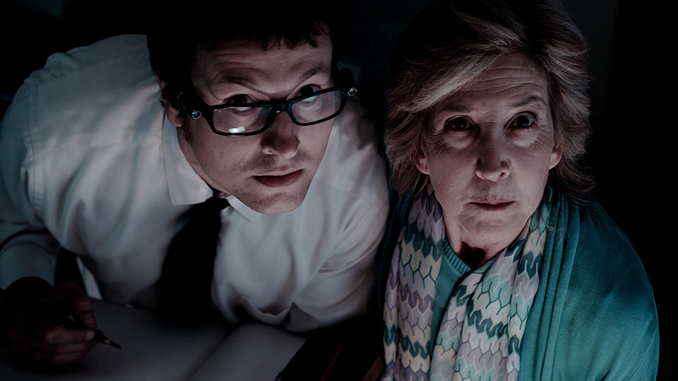 "Leigh Whannell and Lin Shaye in ""Insidious"" (2010)"