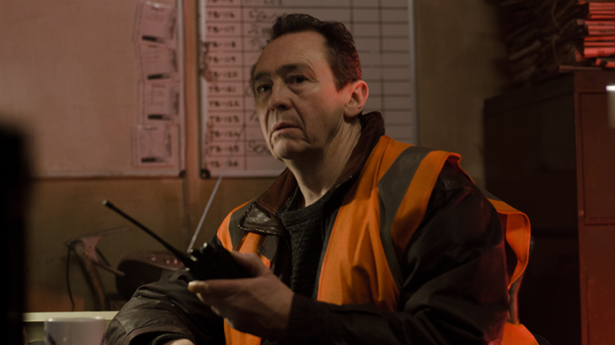 Paul Whitehouse as Tony Matthews in Jeremy Dyson & Andy Nyman's GHOST STORIES. Courtesy of IFC Midnight. An IFC Midnight release.