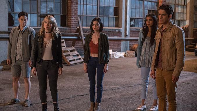 Tyler Posey, Nolan Gerard Funk, Lucy Hale, Sophia Ali, Hayden Szeto, and Violett Beane in Truth or Dare (2018)
