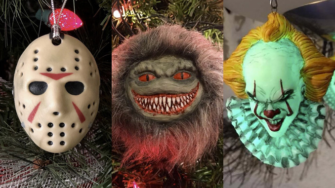 Horror Christmas Ornaments.10 More Must Have Horror Christmas Ornaments